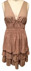 ikks short dress Khaki on Tradesy