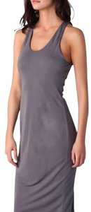 Elephant Gray Maxi Dress by T by Alexander Wang