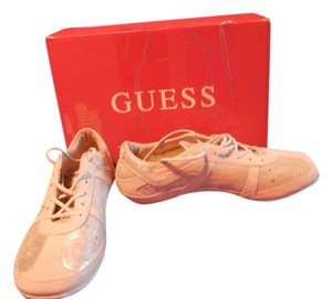 Guess Ivory Multi Suede Athletic