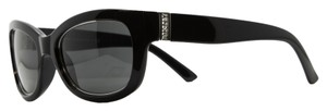 DKNY DKNY Black Slim Cateye Sunglasses