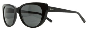 DKNY DKNY Black Cateye Sunglasses