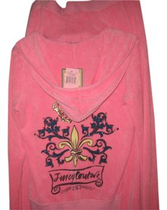 Juicy Couture Juicy Couture Pink Terry Cloth Jogging Suit -XL/L