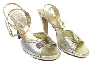 Versace Gold Ankle Straps Ankle Strap Formal