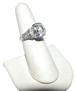 Victoria Wieck Victoria Wieck .925 Absolute Cushion Cut Diamond Ring Size 8