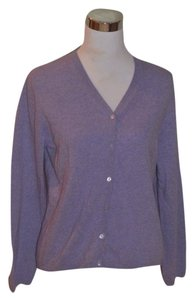 Neiman Marcus Cashmere Cardigan Long Sleeve M Sweater