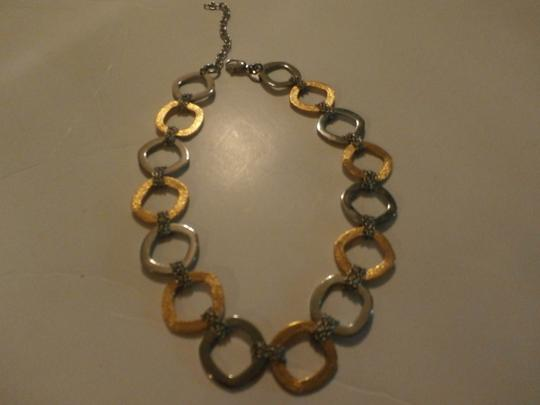 Other Gorgeous Stainless Steel Necklace TWO TONE