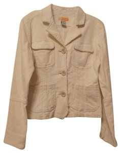 Tulle Corduroy Fitted New Without Tags Distressed New Off-White Jacket