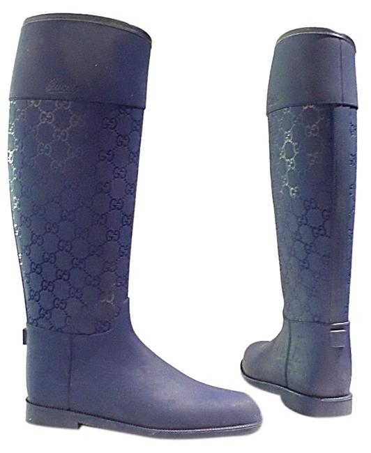 Item - Navy ssima Rubber Boots/Booties Size US 6 Regular (M, B)