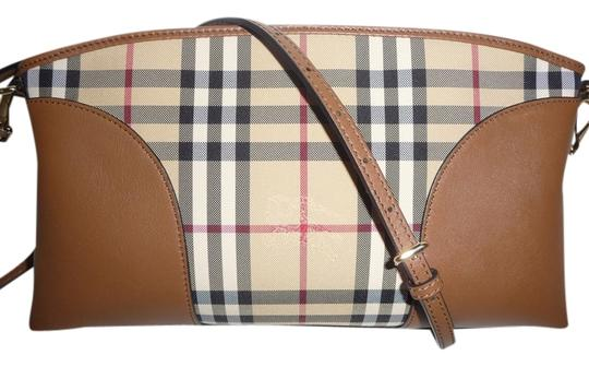 Preload https://img-static.tradesy.com/item/9833239/burberry-horseferry-check-clutch-new-brown-beige-leather-messenger-bag-0-1-540-540.jpg