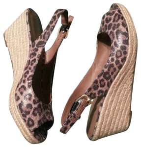 Franco Sarto Print Wedge Animal Wedges