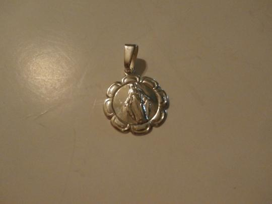Other New Sterling Silver OUR LADY OF Lourdes medal Pendant