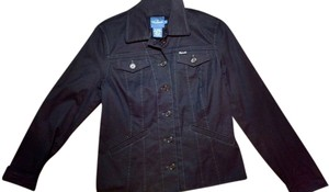 Façonnable Sports Button Down navy Womens Jean Jacket