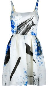 Christopher Kane Silk Floral Dress