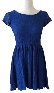 B. Darlin short dress Blue on Tradesy
