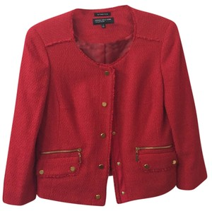 Jones New York Red Blazer