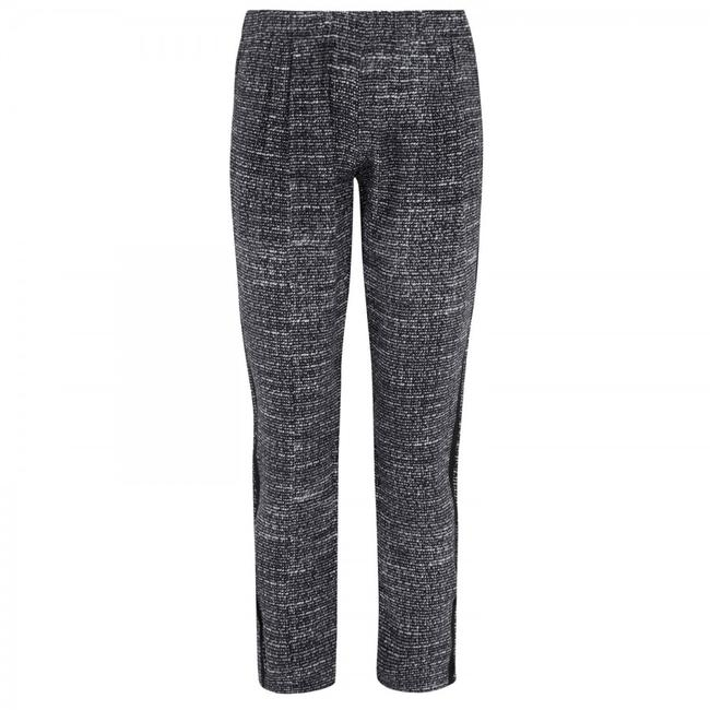 Joie Silk Relaxed Track Trouser Pants Tweed