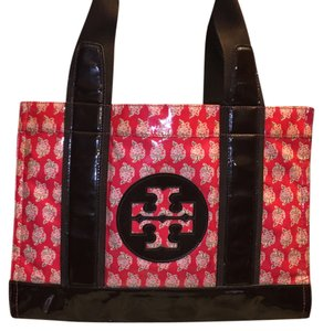 Tory Burch Tote in Red And Brown
