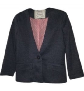 Anthropologie grey Blazer