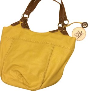 The Sak Large Tote in yellow