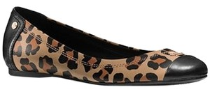Coach Black /Natural Flats