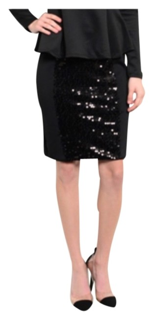Preload https://img-static.tradesy.com/item/9836593/blac-sequin-pencil-knee-length-skirt-size-10-m-31-0-1-650-650.jpg