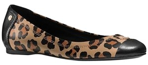 Coach Black / Natural Flats