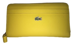Lacoste Lacoste Lemon Curry Large Zip Wallet