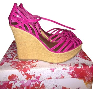 Chinese Laundry Pink Wedges