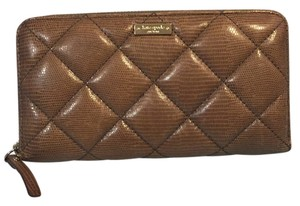 Kate Spade Kate Spade Quilted Zip Around Leather Wallet