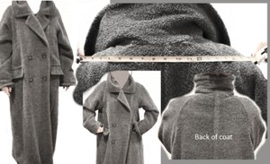Max Mara Winter Long Wool Coat