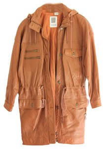 Together Leather Leather Rustic Tan Leather Jacket