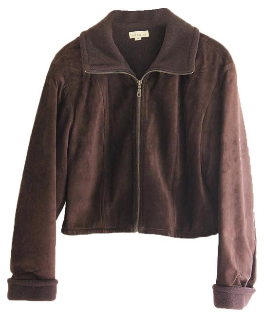 Preload https://img-static.tradesy.com/item/9839023/ann-taylor-chocolate-brown-suede-leather-jacket-size-2-xs-0-1-650-650.jpg
