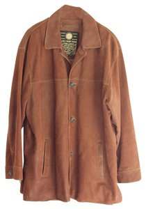 Marc New York Mens's Leather cinnamon brown Men's Leather Jacket