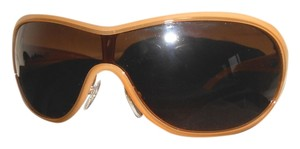 Prada PRADA Sunshades in a Rich Caramel