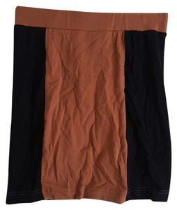 Forever 21 Mini Skirt black & brown