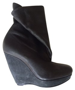 Balenciaga Balen Boots Booties Black Wedges