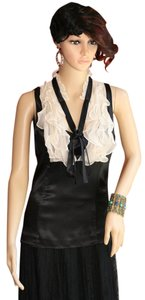 Nu Collective Black Top Black, Bone