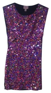 Topshop Sequin Bodycon Mini Bachelorette New Years Eve Dress