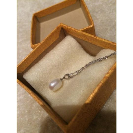 Other Freshwater Genuine Pearl Pendant Drop Necklace 16