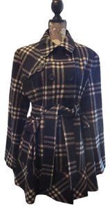Apt. 9 Wool Princess Burberry Fit And Flair Pea Coat