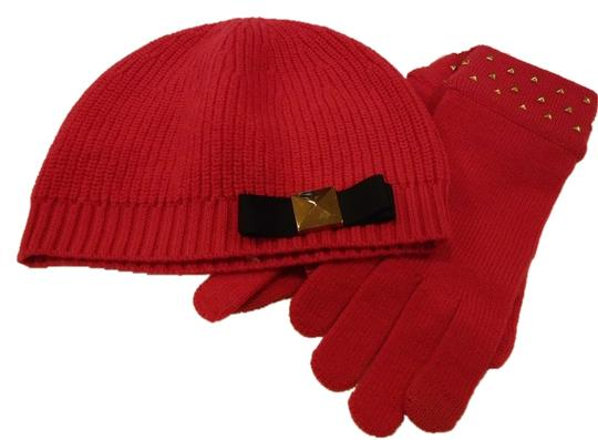 Kate Spade Wool Hat and Glove Set