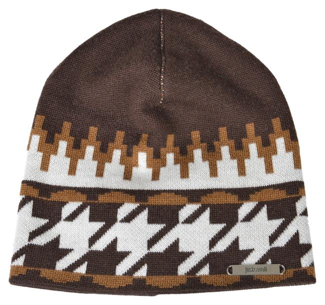 Just Cavalli Multi-color Unisex Wool Beanie One Size Hat Image 1