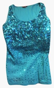 Dots Top Turquoise