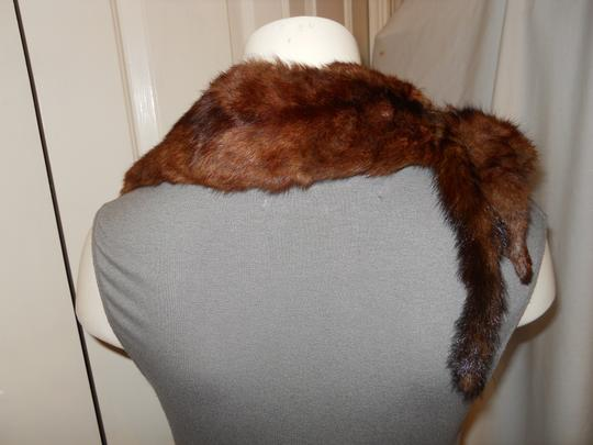 Other vintage 2 full body mink wrap/stole