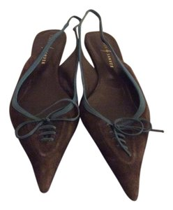 Rebeca Sanver Brown Flats