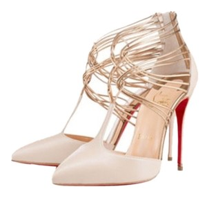 Christian Louboutin Red Bottom Pump Heel Nude Pumps