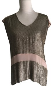 Creative Commune Top Silver/blush