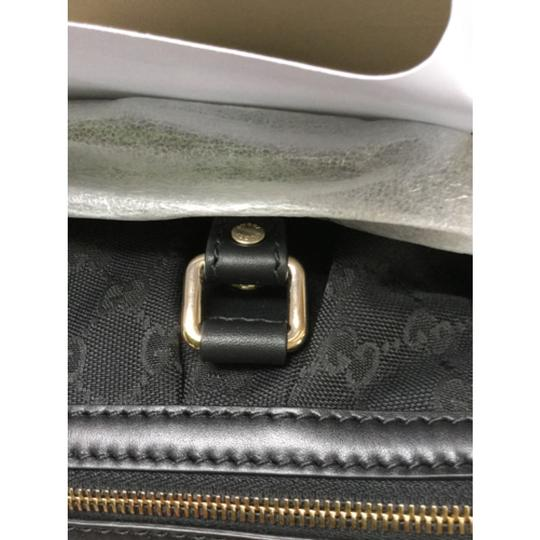 Gucci Guccissima Tophandle Sukey Monogram Gg Satchel in Black