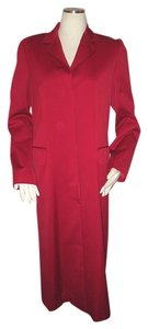 DKNY Wool Blend Dress Size 10 Trench Coat