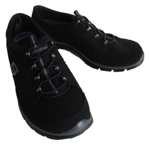 Skechers Slip On Sneakers 8.5 Black Athletic